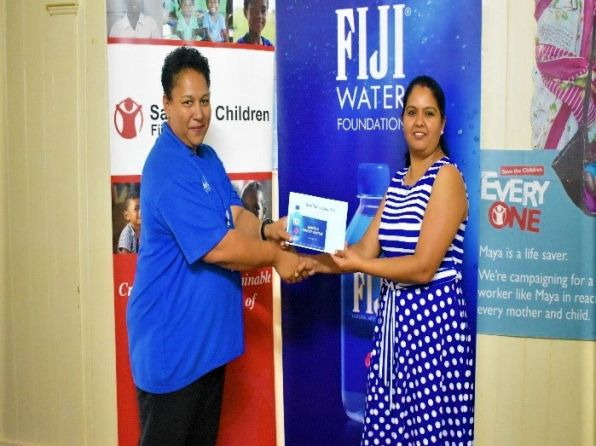 Fiji Water Foundation Provides FJD100,000 to Save the Children Fiji