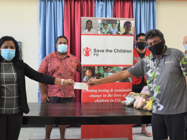Lodge of Fiji Donate $10,000 to Support Families with Children for Special Needs